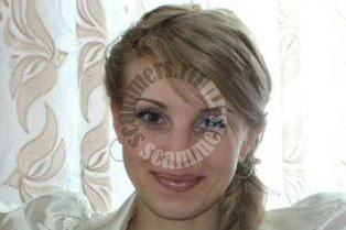 russian dating scammer Elena Salyahutdinova`s photo