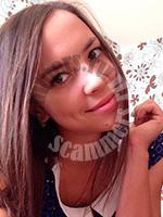 russian dating scammer Julia Okhotnikova`s photo